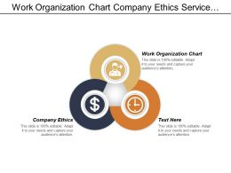 Work Organization Chart Company Ethics Service Relationship Management