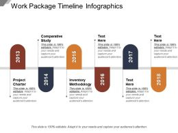 Work Package Timeline Infographics