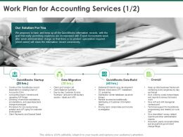 Work Plan For Accounting Services Data Migration Ppt Powerpoint Presentation Pictures Layout Ideas