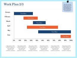 Work Plan Ppt Powerpoint Presentation Infographics Show