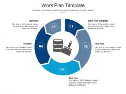 Work Plan Template Ppt Powerpoint Presentation Pictures Graphics Cpb