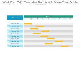Work Plan With Timetable Template 2 Powerpoint Guide
