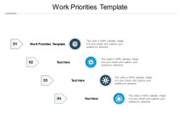 Work Priorities Template Ppt Powerpoint Presentation File Graphics Cpb