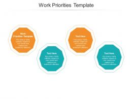 Work Priorities Template Ppt Powerpoint Presentation Professional Background Designs Cpb