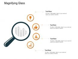 Work Priority Analysis Magnifying Glass Ppt Powerpoint Presentation Ideas Files