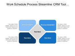 Work Schedule Process Streamline Crm Tool Marketing Niches Cpb