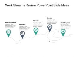 Work Streams Review Powerpoint Slide Ideas