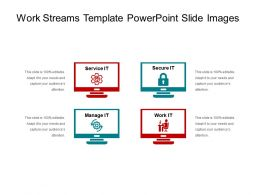 Work Streams Template Powerpoint Slide Images