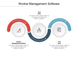 Worker Management Software Ppt Powerpoint Presentation File Demonstration Cpb