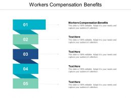 Workers Compensation Benefits Ppt Powerpoint Presentation Model Samples Cpb