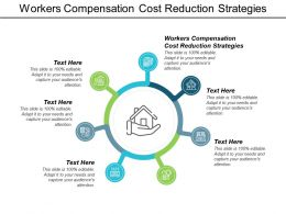 Workers Compensation Cost Reduction Strategies Ppt Powerpoint Presentation Model Master Slide Cpb