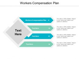 Workers Compensation Plan Ppt Powerpoint Presentation Portfolio Display Cpb