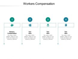 Workers Compensation Ppt Powerpoint Presentation Pictures Background Designs Cpb