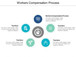 Workers Compensation Process Ppt Powerpoint Presentation Layouts Topics Cpb