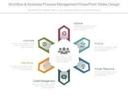 Workflow And Business Process Management Powerpoint Slides Design