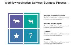 Workflow Application Services Business Process Engine Design Elements