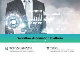 Workflow Automation Platform Ppt Powerpoint Presentation Portfolio Tips Cpb