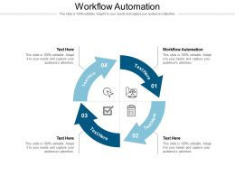 Workflow Automation Ppt Powerpoint Presentation Icon Show Cpb