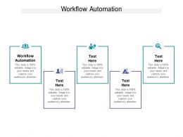Workflow Automation Ppt Powerpoint Presentation Show Cpb