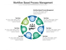 Workflow Based Process Management Ppt Powerpoint Presentation Outline Slide Cpb
