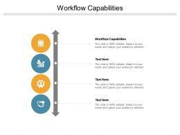 Workflow Capabilities Ppt Powerpoint Presentation Portfolio Graphics Cpb