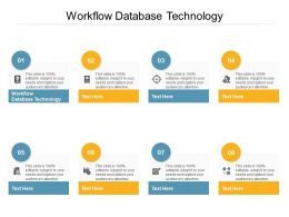 Workflow Database Technology Ppt Powerpoint Presentation File Example File Cpb