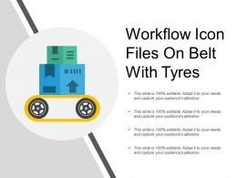 Workflow Icon Files On Belt With Tyres