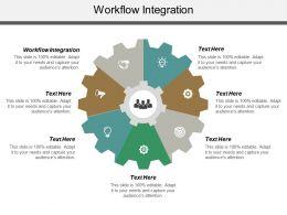 Workflow Integration Ppt Powerpoint Presentation Icon Master Slide Cpb