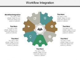 Workflow Integration Ppt Powerpoint Presentation Layouts Slide Download Cpb