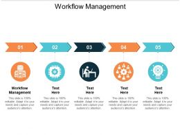 Workflow Management Ppt Powerpoint Presentation Professional Format Ideas Cpb