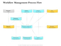 Workflow Management Process Flow Ppt Summary Picture
