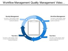 Workflow Management Quality Management Video Conference Team Building