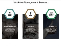 Workflow Management Reviews Ppt Powerpoint Presentation Styles Example Topics Cpb