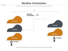Workflow Orchestration Ppt Powerpoint Presentation Professional Cpb