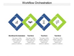 Workflow Orchestration Ppt Powerpoint Presentation Styles Deck Cpb