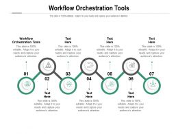 Workflow Orchestration Tools Ppt Powerpoint Presentation File Templates Cpb