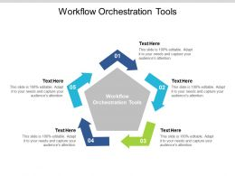 Workflow Orchestration Tools Ppt Powerpoint Presentation Professional Graphics Cpb