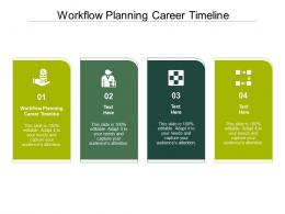 Workflow Planning Career Timeline Ppt Powerpoint Presentation Example 2015 Cpb