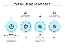 Workflow Process Documentation Ppt Powerpoint Presentation Ideas Portrait Cpb
