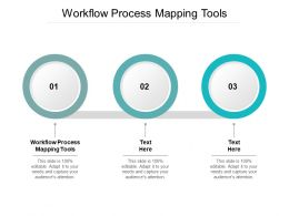 Workflow Process Mapping Tools Ppt Powerpoint Presentation Summary Example Cpb