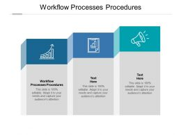 Workflow Processes Procedures Ppt Powerpoint Presentation Styles Example Introduction Cpb
