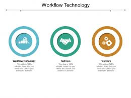 Workflow Technology Ppt Powerpoint Presentation Icon Background Image Cpb