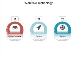 Workflow Technology Ppt Powerpoint Presentation Icon Styles Cpb
