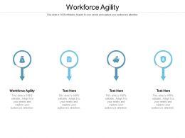 Workforce Agility Ppt Powerpoint Presentation Gallery Portrait Cpb