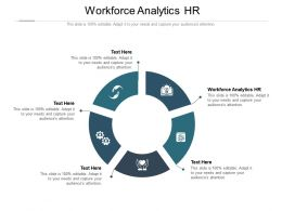 Workforce Analytics HR Ppt Powerpoint Presentation File Icon Cpb