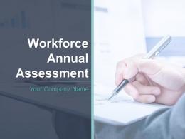 Workforce Annual Assessment Powerpoint Presentation Slides
