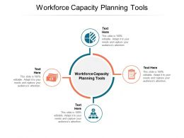 Workforce Capacity Planning Tools Ppt Powerpoint Presentation Model Cpb