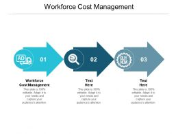 Workforce Cost Management Ppt Powerpoint Presentation Model Designs Download Cpb