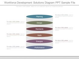 Workforce Development Solutions Diagram Ppt Sample File