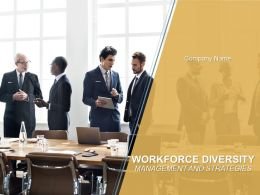 Workforce Diversity Management And Strategies Powerpoint Presentation Slide